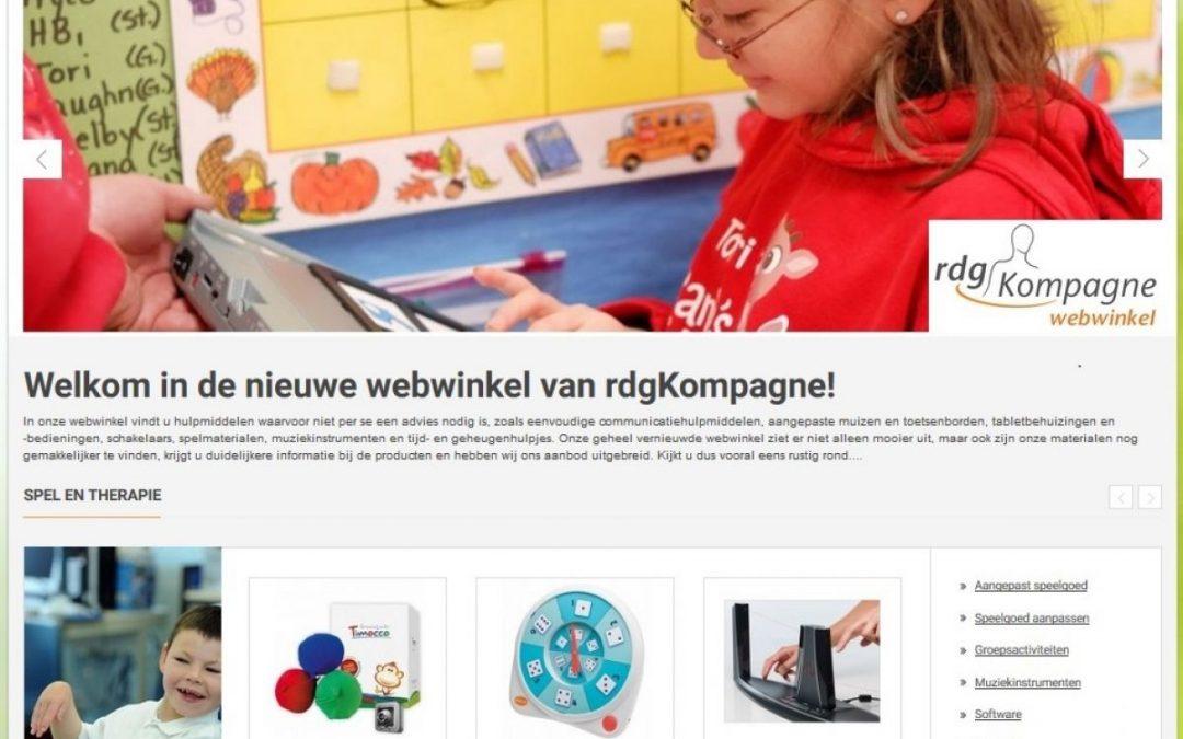 Een nieuwe webshop!
