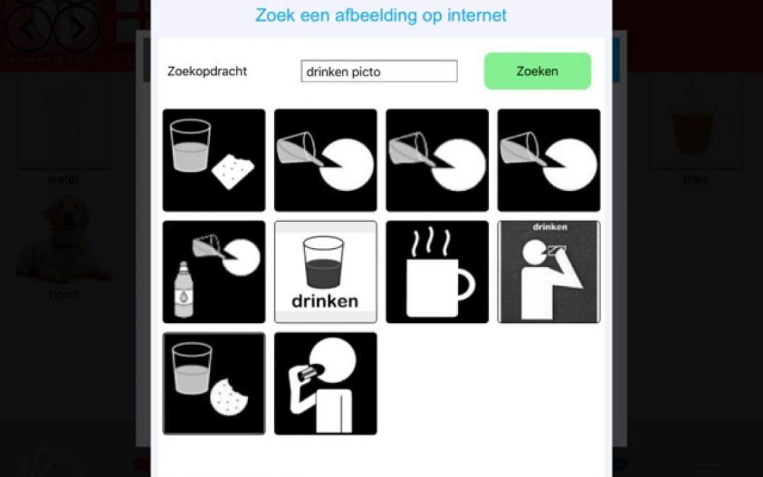 Nieuw in TouchToTell: afbeeldingen van internet gebruiken
