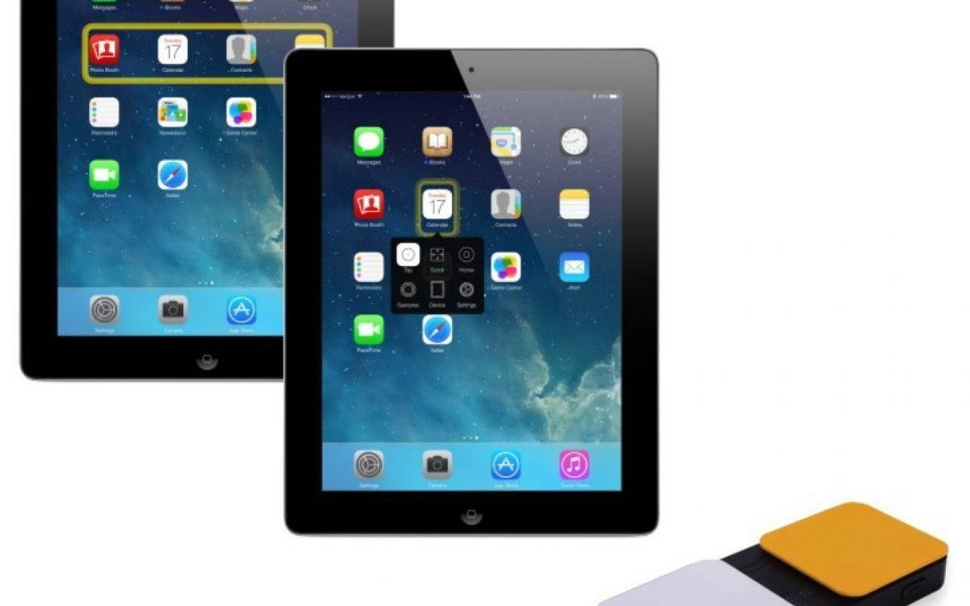 De iPad bedienen met schakelaars