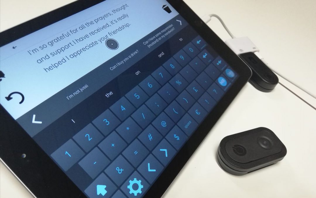 Gebruik uw muisvervanger nu ook op de iPad!