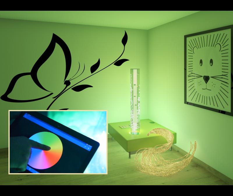 Start interactief snoezelen met een Luminea-hoekje