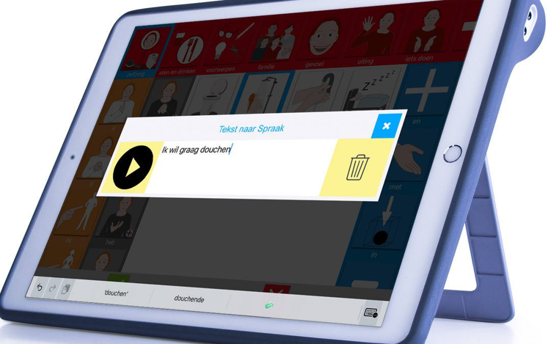 Tekst-naar-spraak in TouchToTell